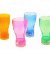 Gekleurd kinder drinkglas met licht trend