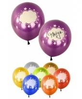 Gekleurde ballonnen met tekstwolkjes trend