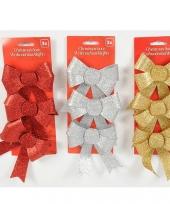 Gekleurde cadeaustrikken met glitters trend
