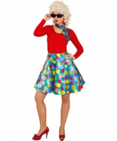 Gekleurde dames rok trend