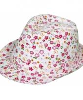 Gekleurde dames tribly hoed trend