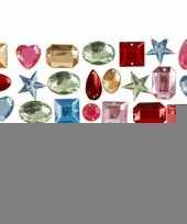 Gekleurde diamanten stenen 15 gr trend