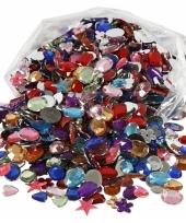 Gekleurde diamanten stenen 1600 stuks trend