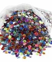 Gekleurde diamanten stenen 3000 stuks trend