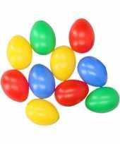 Gekleurde eieren 10 stuks trend