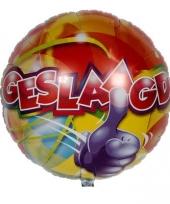 Gekleurde feest ballon geslaagd trend
