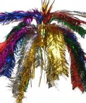 Gekleurde glitter decoratie 60 cm trend