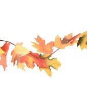 Gekleurde herfstslinger 150 cm trend