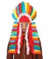 Gekleurde indianen tooi voor heren trend
