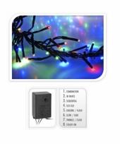 Gekleurde kerstboom verlichting 576 lampjes trend