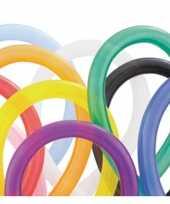 Gekleurde modelleerballonnen 100 stuks trend