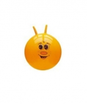 Gekleurde skippyballen met gezicht trend