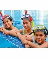 Gekleurde snorkelset voor tieners trend