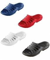 Gekleurde zwembad sandalen voor heren trend