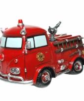 Geld spaarpot brandweerauto trend
