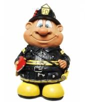 Geld spaarpot brandweerman trend