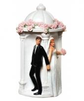 Geld spaarpot bruidspaar trend