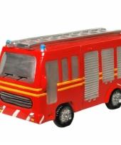 Geld spaarpot rode brandweer auto trend