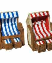 Geld spaarpot strandstoel trend