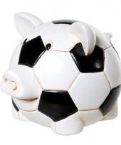 Geld spaarvarken voetbal design trend
