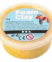 Gele foam klei 35 gram trend