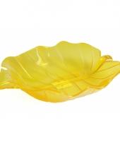 Gele fruit schaal 32 cm trend