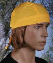 Gele hoofddoek uni 1 trend