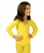 Gele kinder ballet outfit trend