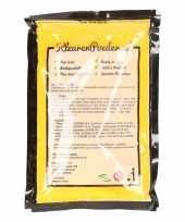 Gele kleurenpoeders 100 gram trend