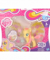 Gele my little pony schoenkado pop 8 cm trend