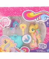 Gele my little pony schoenkado poppetjes trend