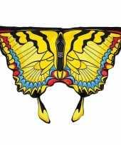 Gele zwaluwstaartvlinder vleugels voor kids trend