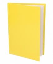 Gelinieerd notitie boekje geel trend