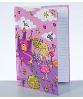 Gelinieerd notitie boekje prinses trend