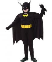 Gespierde vleermuis superheld kinder verkleedkleding trend