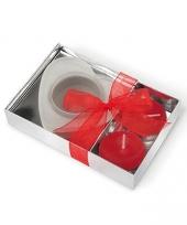 Geurkaarsje in geschenkverpakking trend