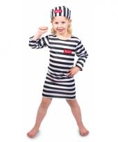 Gevangene kostuum voor meisjes trend