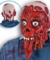 Ghoulish bloederig horror latex masker voor volwassenen trend