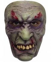 Ghoulish frankenstein latex masker voor volwassenen trend