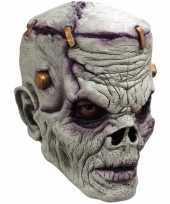 Ghoulish frankn zombie latex masker voor volwassenen trend