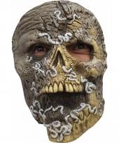 Ghoulish skelet horror latex masker voor volwassenen trend