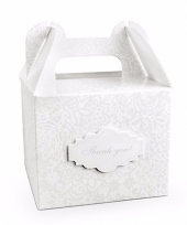 Giftboxes thank you 10 stuks trend
