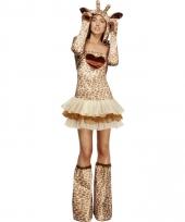 Giraf verkleedoutfit voor dames trend
