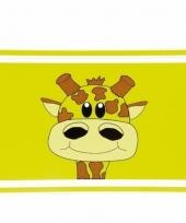 Giraffe placemat van 44 cm trend