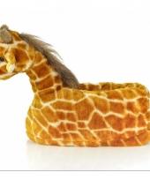 Giraffe sloffen voor kinderen trend