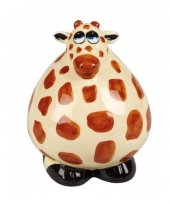 Giraffe spaarpotjes 12 cm trend