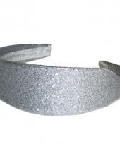 Glamour en glitter diadeem zilver trend