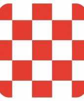 Glas viltjes met brabantse vlag 15 st trend