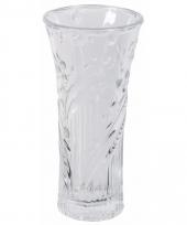 Glazen bloemenvaas 25 cm trend