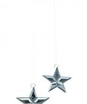 Glazen decoratie sterren trend